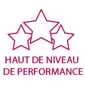 haut niveau de performance